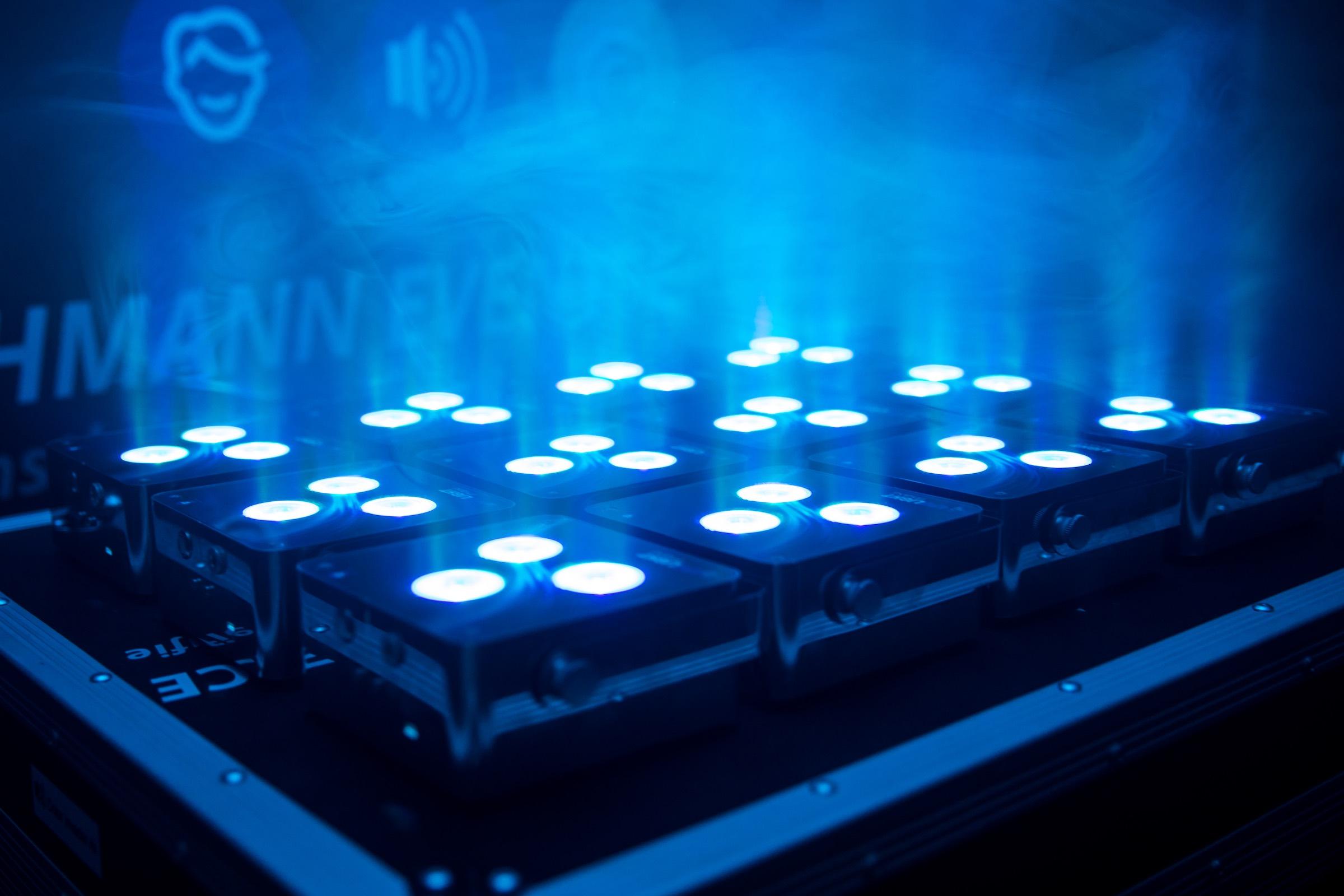 Beleuchtung | Akku | LED | Floorspots | Messe | Firmenveranstaltung | Indoor | Outdoor | Lichttechnik | Ambientebeleuchtung | Uplight | Buchen | Mieten | Anfragen | Lehmann | Eventservice