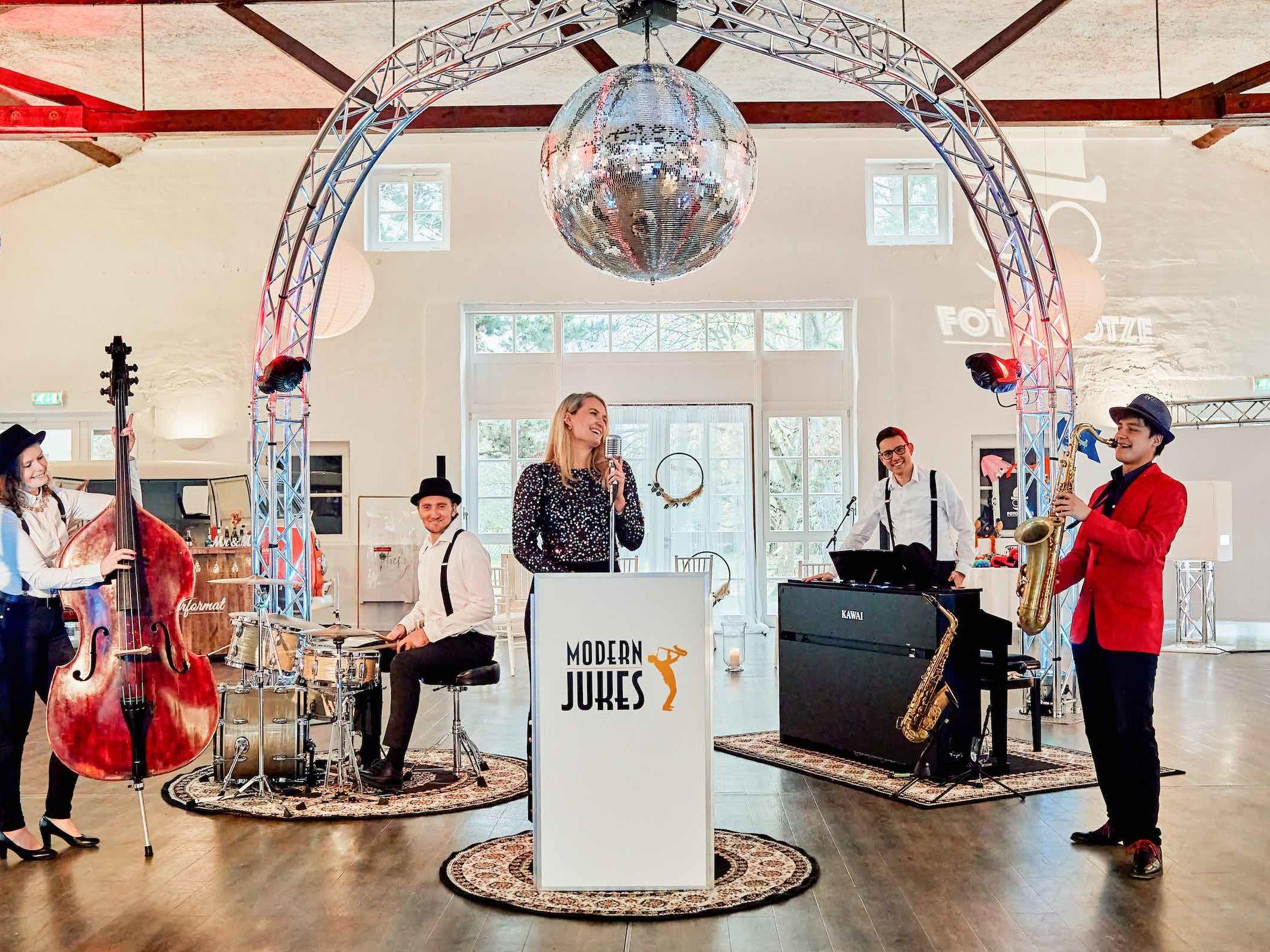 Jazzband | Hochzeit | Hannover | Popband | Partyband | Sektempfang | Party | Trauung | Dinner | Buchen | Mieten | Lehmann | Eventservice