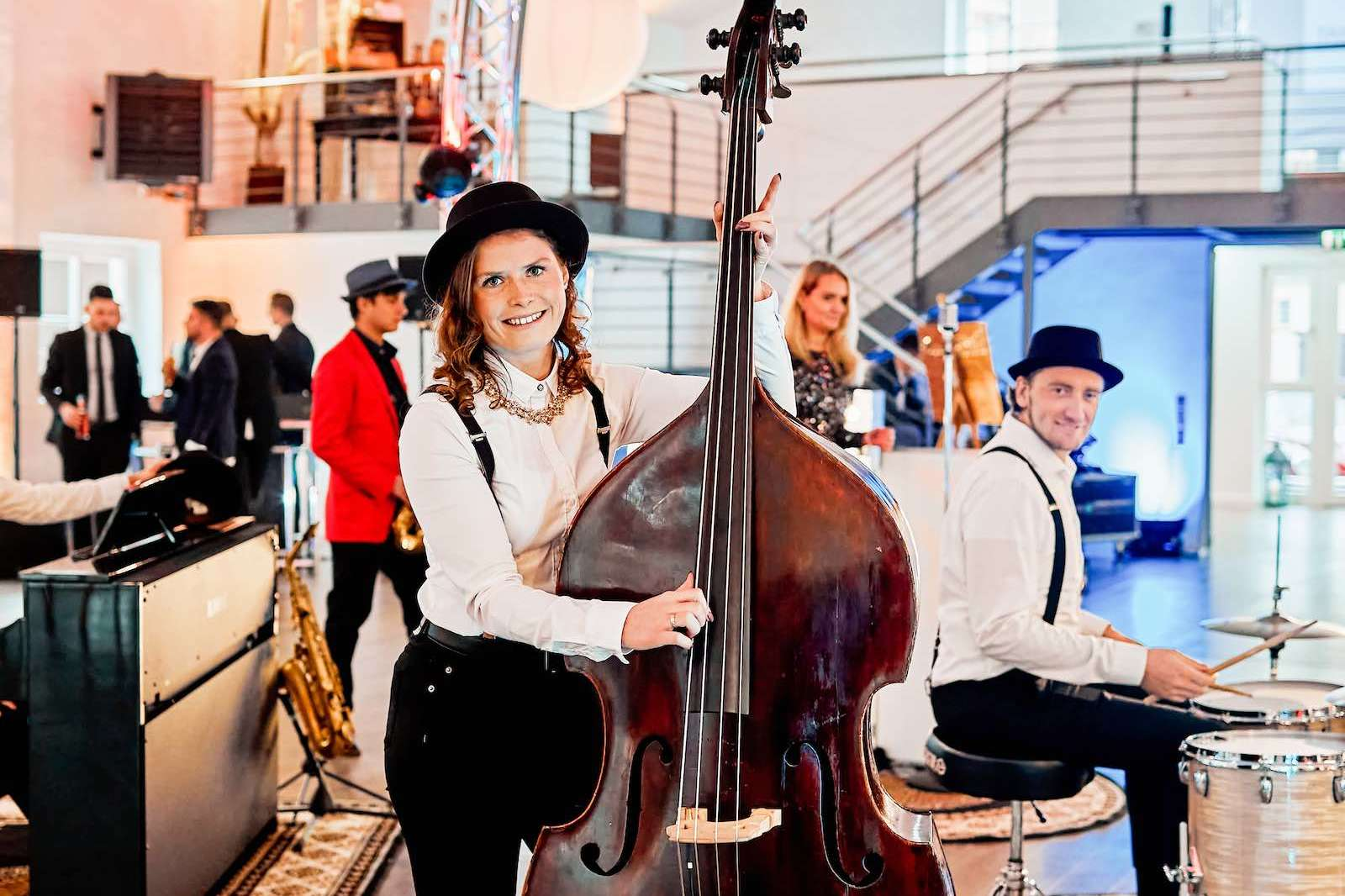 Jazzband | Live | Band | Hochzeit | Hannover | Popband | Partyband | Loungeband | Sektempfang | Party | Trauung | Dinner | Buchen | Mieten | Lehmann | Eventservice