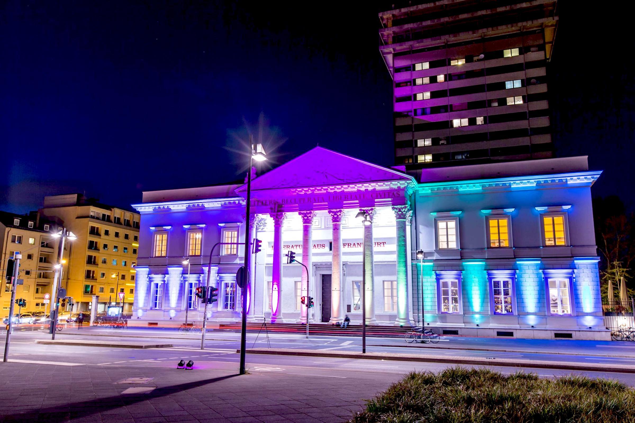 Lichttechnik |Outdoor |Fassaden |Beleuchtung |Lichttechnik |Scheinwerfer |Uplight |Licht |Konzept |Illumination |Veranstaltungstechnik |Firmenkunden |Eventaustattung |Mieten |Buchen