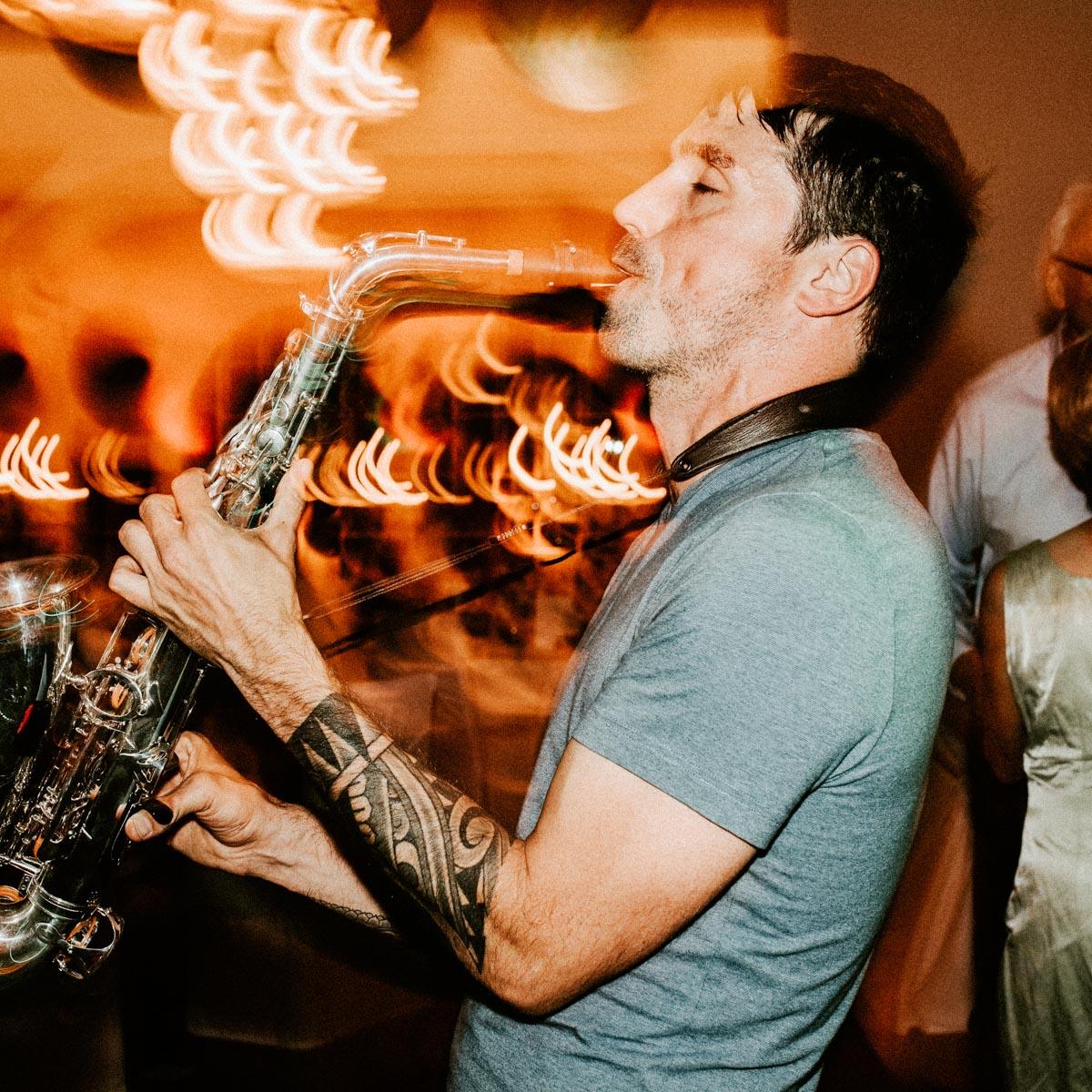Saxophonist |Saxophonspieler |Christopher |House |Techno |Electro |DJ |Combo |Party |Highlighte |Buchen |Mieten |Anfragen |Lehmann |Eventservice