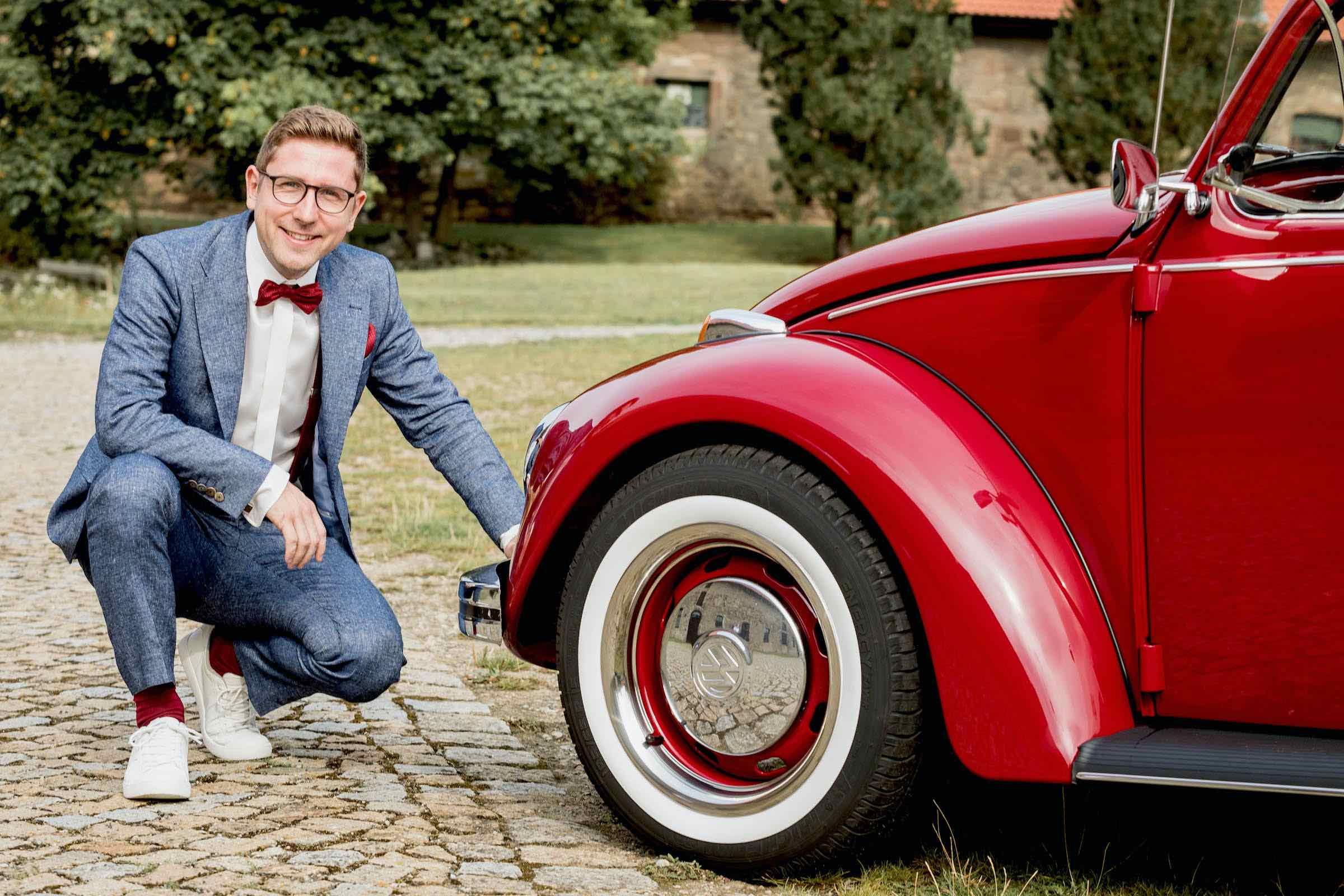Oldtimer | VW | Käfer | Hochzeitsauto | Brautwagen | Classic | Car | Vermietung | Verleih | Hochzeit | Event | Mieten | Buchen | Leihen
